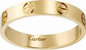 CRB4085000 LOVE Wedding Band Yellow Gold Cartier