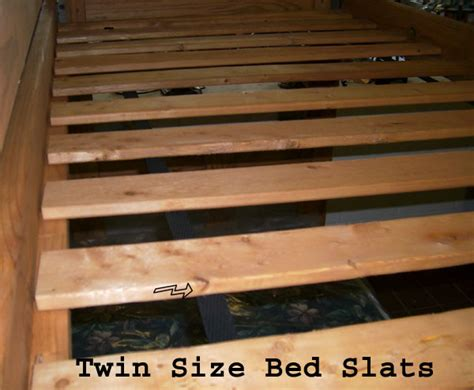 twin extra long bed slats wooden