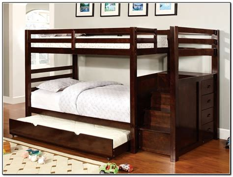 bunk bed with trundle desk and storage bunk beds with trundle and storage beds home design