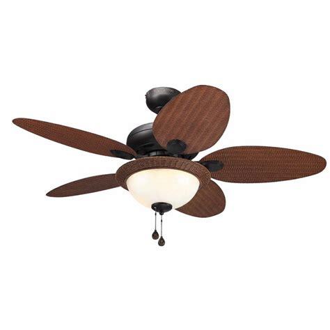 lowes harbor breeze fan shop harbor breeze tilghman 44 in aged bronze downrod or