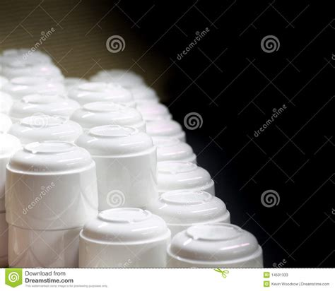 white stacked white stacked coffee cups royalty free stock photography cartoondealer com 49633673