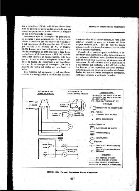diagrama electrico de un split de 24000 btu con contactor yoreparo
