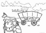 Wagon Coloring Trail Oregon Covered Train Trains Drawing Printable Days Getcolorings Conestoga Adult Camera Deviantart Getdrawings sketch template