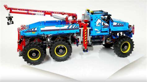 lego s technic 42070 set gets you a badass 6x6 all