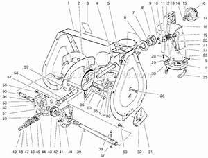 Honda Snowblower Auger Parts Diagram  Honda  Auto Parts Catalog And Diagram