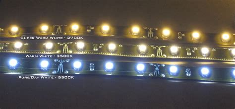 super warm white  water resistant led strips