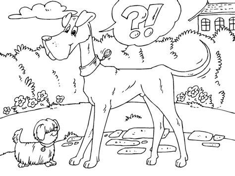 Kleurplaat 10 Plus by Kleurplaat Grote Hond En Kleine Hond Afb 22680 Images