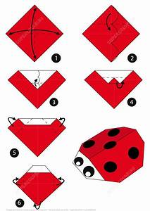 Origami Ladybug Instructions