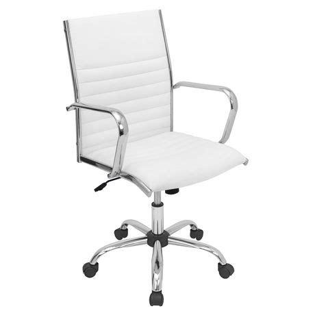 white office chair walmart lumisource master office chair walmart ca