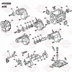 Parts Illustration Nv4500 Manual Transmission
