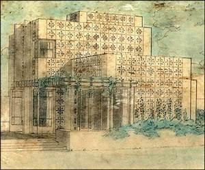 Frank Lloyd Wright Architektur : 319 besten architecture flw renderings bilder auf pinterest frank lloyd wright architekten ~ Orissabook.com Haus und Dekorationen