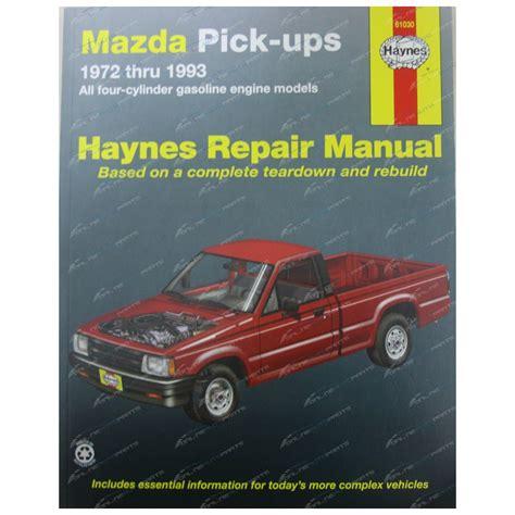 haynes chilton update 4th gen dodge ram repair manuals haynes car repair manual book mazda pickup 1971 93 b1600 b1800 b2000 b2600 petrol ute 61030