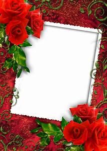 Red Rose frames png images free download