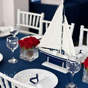 nautical wedding centerpieces With nautical wedding table decor