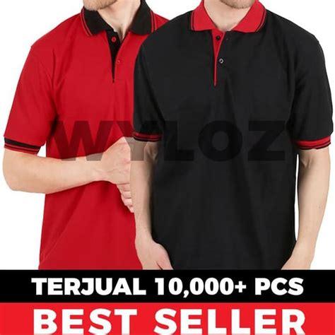 jual baju kaos polo shirt kerah polos lacoste cotton grosir murah polos xl di lapak adywek