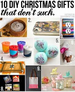 irocksowhat 10 diy christmas gifts that don t suck