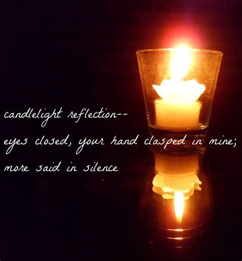 Gedicht Kerze Licht by Blogging Away Candlelight