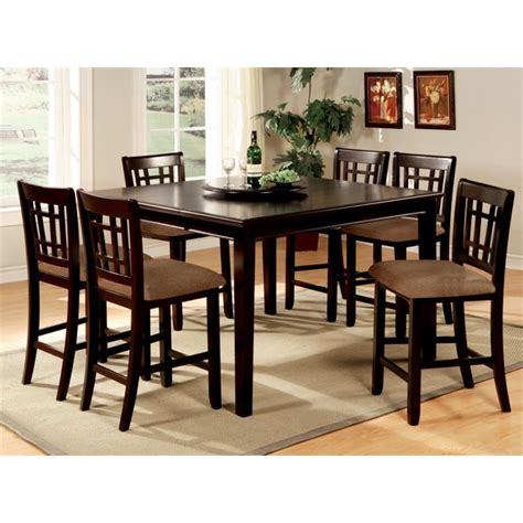 furniture of america swali 5 counter height dining