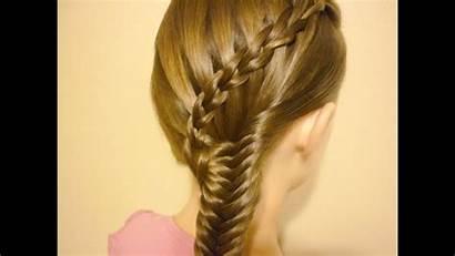 Braid Waterfall Hairstyle Scissor
