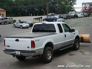 2001 Ford F250 V10 Xlt 4x4 Supercab With Plow For Sale In Laconia  Nh