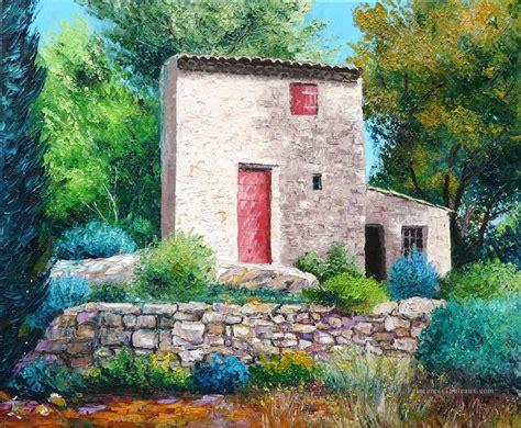 cabanon de paul c 233 zanne jardin peinture tableau en vente