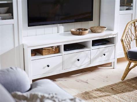 Hemnes Tv Bank Weiß hemnes tv bank wei 223 gebeizt bewahrt dein tv ger 228 t und