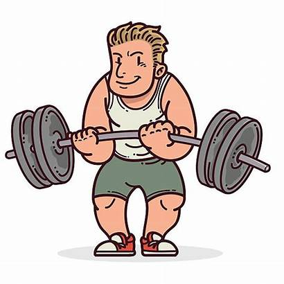 Weightlifting Vector Olympic Illustrations Clip Graphics Similar
