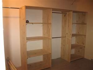 Idée Dressing Fait Maison : maison placard dressing idees ~ Melissatoandfro.com Idées de Décoration