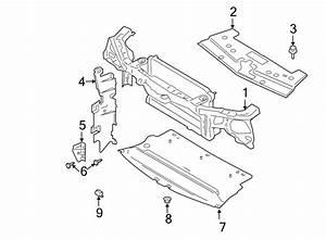 Ford Mustang Radiator Support Splash Shield  Front  Lower