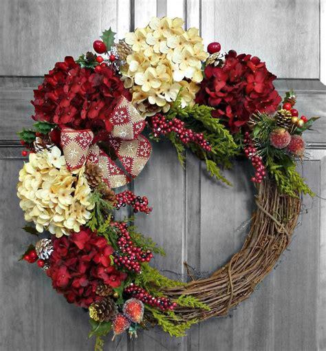 christmas wreath how to make door wreaths live artificial