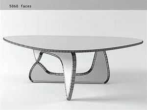 Noguchi Coffee Table : noguchi coffee table 3d model vitra ~ Watch28wear.com Haus und Dekorationen