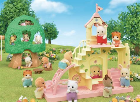 calico critters had babies and they re the 682 | epoch ep calico critter baby castle playground and baby tree house