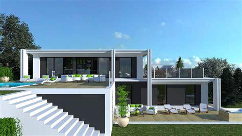 maison contemporaine ossature bois prix maison moderne
