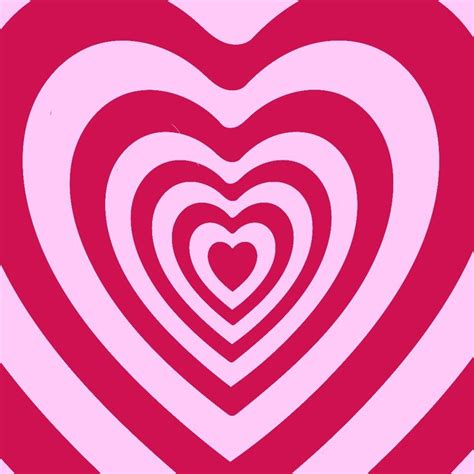 y2k powerpuff pink hearts wallpaper backgrpund