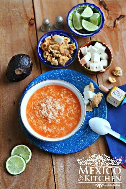 Alphabet Soup Recipe  Sopa De Letras  Mexico In My Kitchen