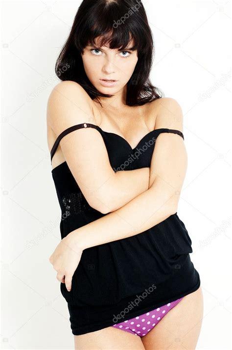Cute Seducing Sexy Girl Stock Photo Overdriven