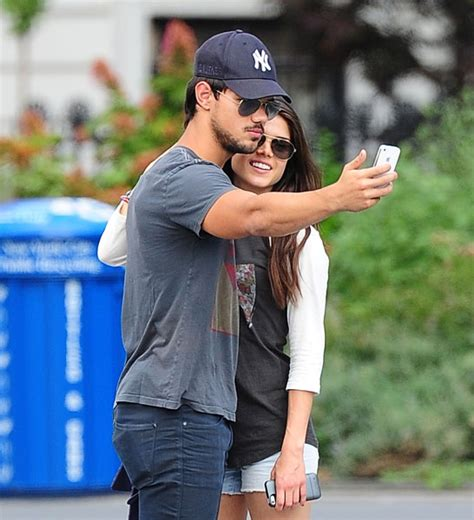Young love: Taylor Lautner and his new co-star girlfriend ...