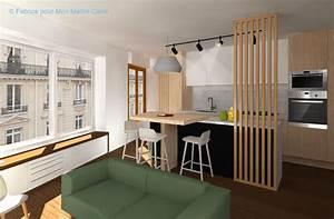 avant apres optimiser lespace avec une cuisine ouverte With creer une cuisine ouverte