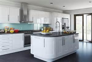 kitchen cabinet handles ideas portway in gloss white aztec kitchens