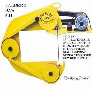 Falberg three-wheeled Portable Band Saw #11 Woodworking