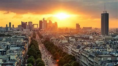 Paris 4k France 5k Wallpapers Sunrise During