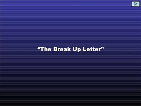 break up letter best up letter 20678   best break up letter ever 1 728