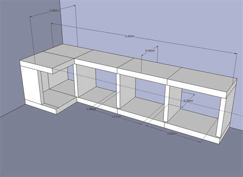 meuble caisson cuisine fabriquer caisson cuisine elements bas obi meuble de