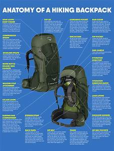 Understand The Parts Of A Backpack For Trekking And