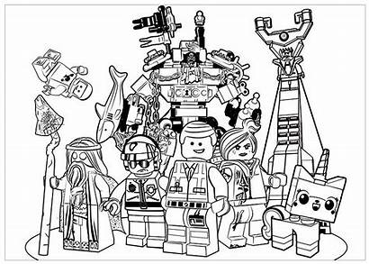 Lego Coloring Pages Adults Adult Posters Movies
