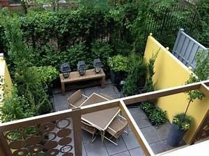 cloturer un jardin types de haies selon les prix With photo amenagement paysager exterieur 15 douze amenagements possibles pour votre balcon