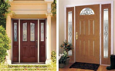 wood vs fiberglass options for exterior doors