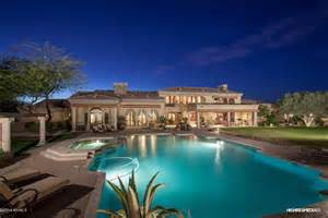 5 bedroom 1 story house plans 5 1 million santa barbara style estate in scottsdale az
