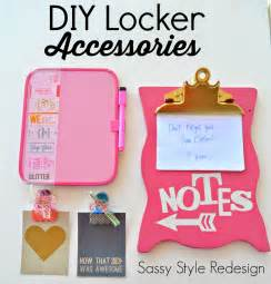 Cute DIY School Locker