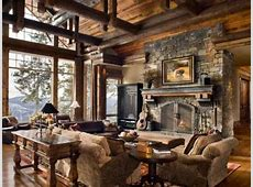 Standout Log Home FireplacesBold and Breathtaking!